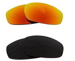 New Seek Optics Replacement Lenses Oakley Wind Jacket   Black Yellow - $23.25