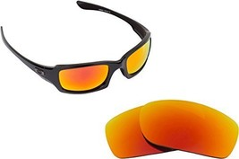 New Seek Optics Replacement Lenses Oakley Fives Squared   Red - $13.34