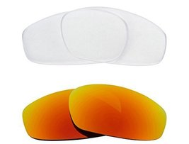 New SEEK OPTICS Replacement Lenses Oakley SPLIT JACKET - Clear Yellow - $23.25