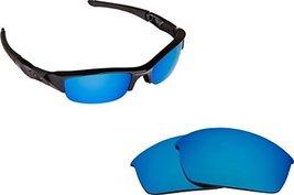 New Seek Replacement Lenses Oakley Flak Jacket Asian Fit   Blue - $13.34