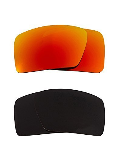 Primary image for New SEEK Replacement Lenses Oakley EYEPATCH 1 Polarized Black Yellow