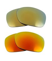 New SEEK OPTICS Replacement Lenses Oakley SIDEWAYS - Yellow Green - $21.27