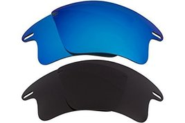 New SEEK OPTICS Replacement Lenses Oakley FAST JACKET XL - Black Blue - $23.25