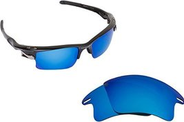 New Seek Replacement Lenses Oakley Fast Jacket Xl Asian Fit Polarized Blue Mi... - $18.30