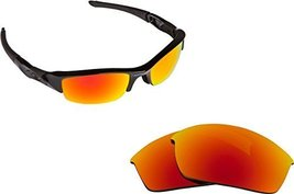 New SEEK Replacement Lenses Oakley FLAK JACKET Asian Fit Polarized Fire Red M... - $18.30