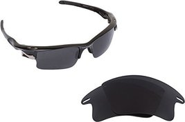 New Seek Replacement Lenses Oakley Fast Jacket Xl Asian Fit   Polarized Grey - $18.30