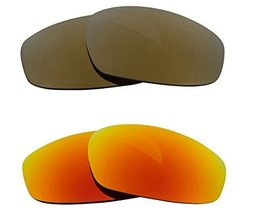 New Seek Optics Replacement Lenses Oakley Wind Jacket   Gold Yellow - $23.25