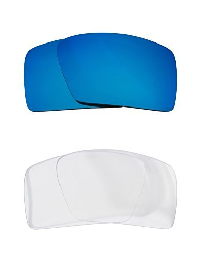 2179e7be1e 31rbmurryfl. sl1500. 31rbmurryfl. sl1500. New SEEK OPTICS Replacement  Lenses Oakley EYEPATCH 2 - Clear Blue