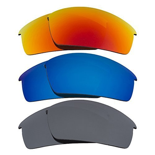 Primary image for New SEEK Replacement Lenses Oakley BOTTLECAP Polarized Black Red Blue