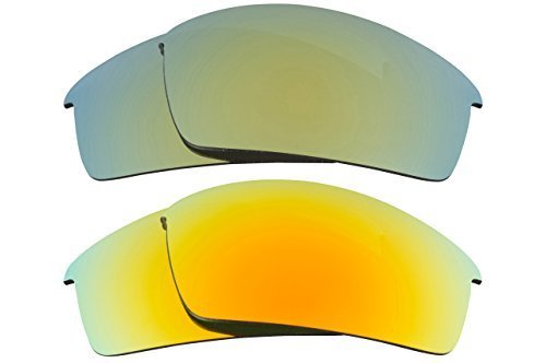 Primary image for New SEEK Replacement Lenses Oakley THUMP PRO - Polarized Yellow Green