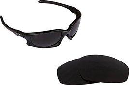 New Seek Optics Replacement Lenses Oakley Wind Jacket   Black - $13.34