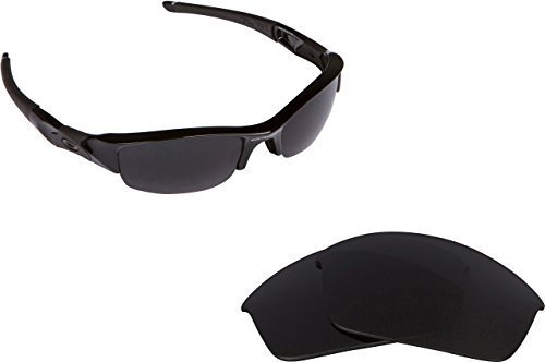 New SEEK OPTICS Replacement Lenses Oakley FLAK JACKET Asian Fit Grey