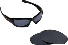 New Seek Optics Replacement Lenses Oakley Monster Dog   Black Iridium - $13.34