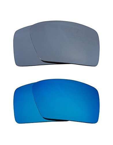 New SEEK Replacement Lenses Oakley EYEPATCH 2 - Polarized Black Blue