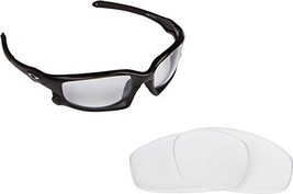 New SEEK Replacement Lenses Oakley SPLIT JACKET Asian Fit - Crystal Clear - $10.86