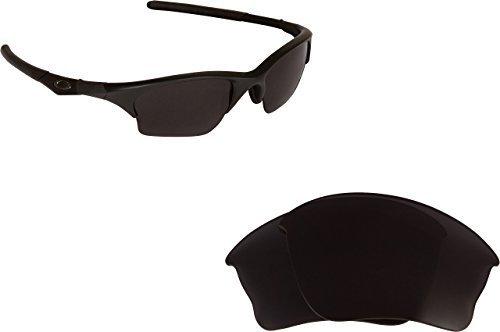 New SEEK OPTICS Replacement Lenses Oakley HALF JACKET XLJ - Polarized Black