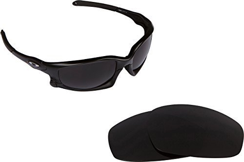 Primary image for New SEEK OPTICS Replacement Lenses Oakley Wind Jacket Asian Fit - Black