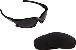 New SEEK OPTICS Replacement Lenses Oakley Wind Jacket Asian Fit - Black - $13.34