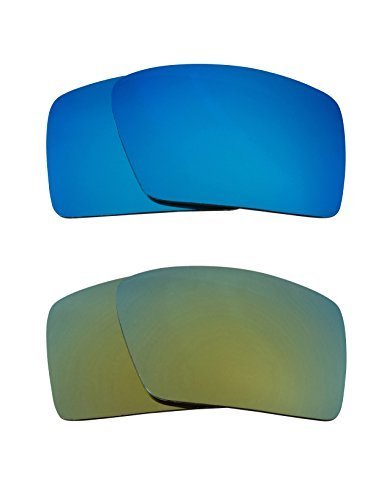 Primary image for New SEEK Replacement Lenses Oakley EYEPATCH 1 - Polarized Green Blue