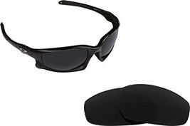 New SEEK Replacement Lenses Oakley Wind Jacket Asian Fit - Polarized Grey - $18.30