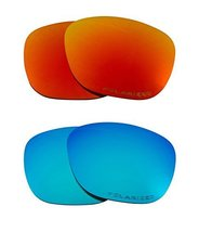 New SEEK OPTICS Replacement Lenses Oakley ENDURO - Polarized Red Blue - $33.15