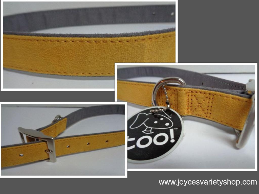 Yellow dog collar 26 collage