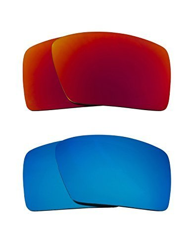 Primary image for New SEEK OPTICS Replacement Lenses Oakley EYEPATCH 1 - Red Blue