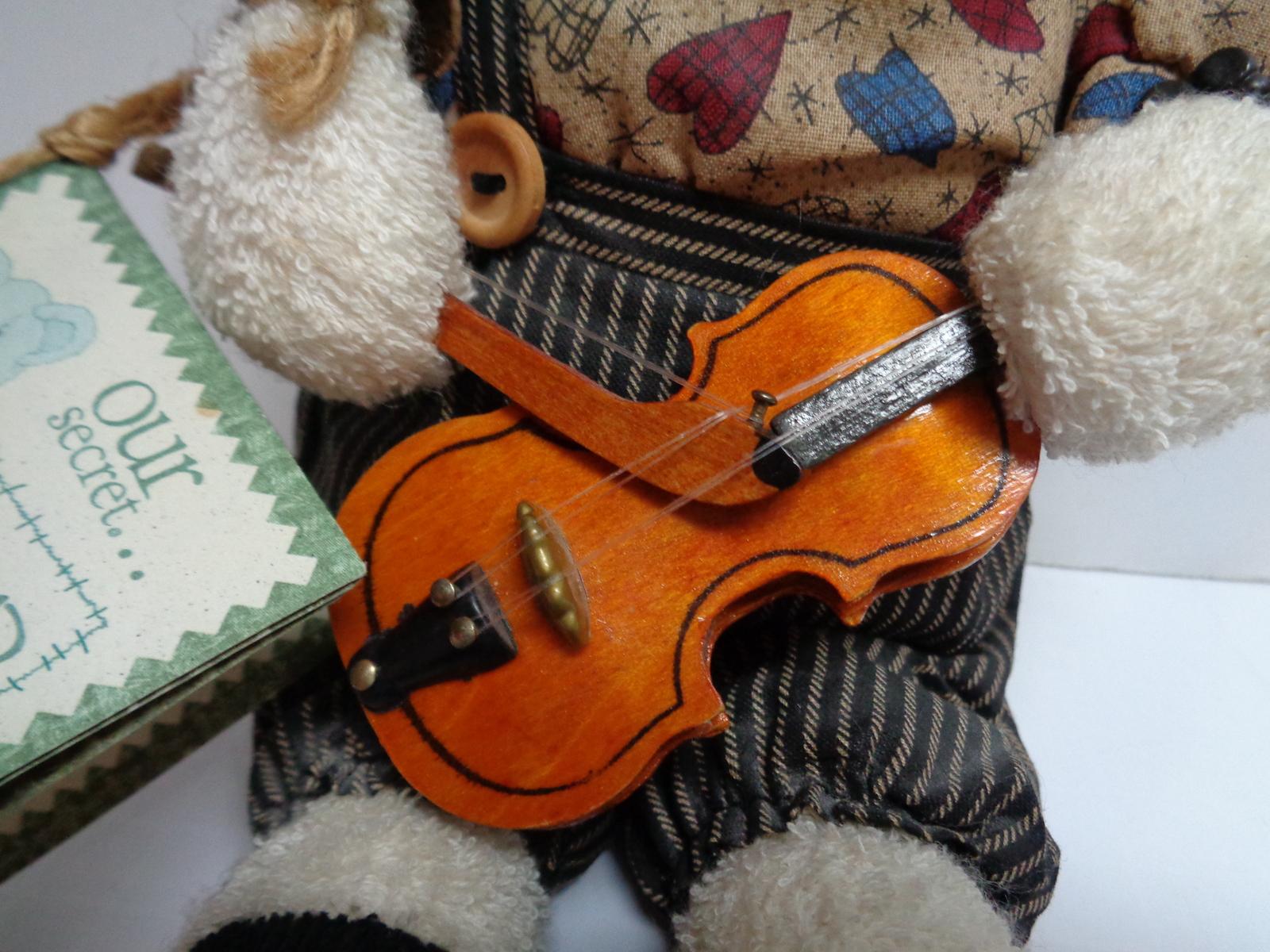 Thread Bears Grandpa Fiddler Robear 1997 Tag Our Secret