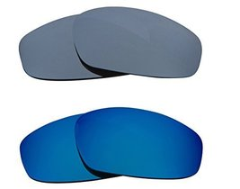 New SEEK OPTICS Replacement Lenses Oakley WIND JACKET - Black Blue - $23.25