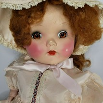 """Vintage Mama Doll Partially Restored Red Mohair Wig 20"""" - $79.15"""