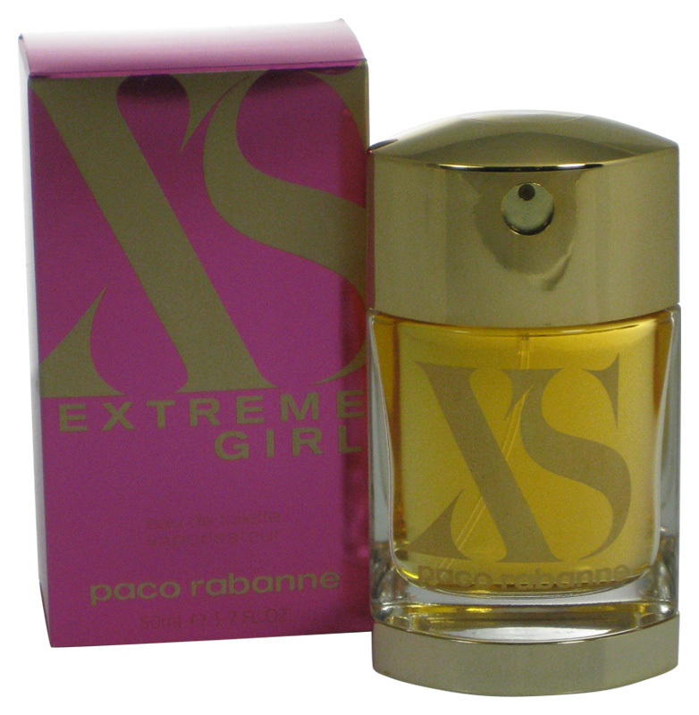 XS EXTREME GIRL EDT 1.7 oz PACO RABANNE EAU DE TOILETTE SPRAY Perfume Fragrance