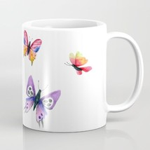 Coffee Mug Cup 11oz or 15oz Made in USA Butterflies Butterfly art L.Dumas - $19.99+