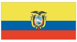 Ecuador Flag Decal Sticker Made In The Usa F147 Choose Size From Dropdown - $1.45+