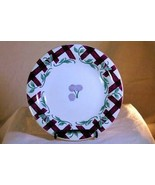 """Princess House Orchard Medley Accent Salad Plate 7 7/8"""" - $3.77"""