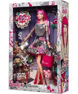2015 Black Label Barbie Collector 10th Anniversary Tokidoki PINK HAIR Do... - $179.99