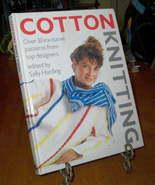 Cotton Knitting Sally Harding Top Designers - $7.98