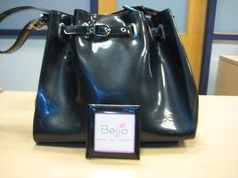 Beijo Bags charcoal It's a Cinch shoulder strap purse handbag bag - $30.00