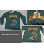Looney Tunes Allstar Basketball Shirt Youth Sz Medium NWT Green Bugs Bunny - $8.99