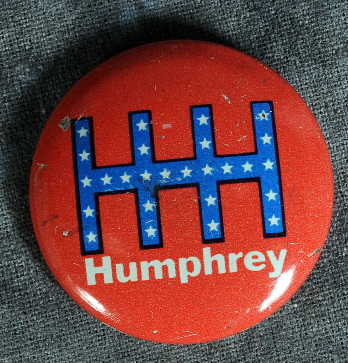 Primary image for HHH Humphrey Campaign Button / Pin