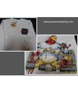 Looney Tunes Football League Gridiron Youth Shirt Foghorn Leghorn NWT Sz L - $10.99
