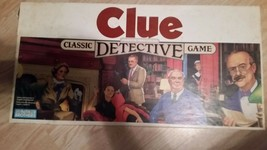 1986 Vintage Clue Board Game Parker Brothers Classic Detective Game - $28.04