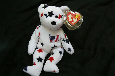 Ty Original Gloria The Bear Beanie Baby Hand Tag1997/Tush Tag1998 Excellent MWMT