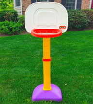 ADJUSTABLE LITTLE TIKES BASKETBALL HOOP EUC - PICK UP ONLY - NO SHIPPING - $8.90