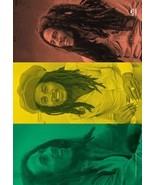 Bob Marley Textile Poster (Rasta Collage) - $18.00