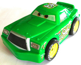 Mattel Disney Diecast Car #86 Chick Hicks Hostile Takeover Bank SHAKE & ... - $17.81