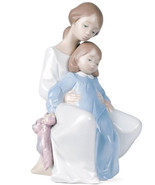 """NEW IN BOX NAO BY LLADRO #1429 """"A MOMENT WITH MOMMY"""" MOTHER & DAUGHTER F... - $128.69"""