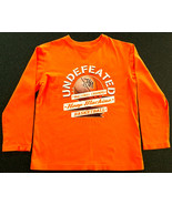 NEW PLACE BOYS ORANGE LS T-SHIRT SZ M 7-8 BASKETBALL UNDEFEATED NAT'L CH... - $7.91