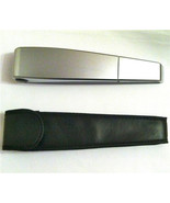 NEW SHARPER IMAGE BRIGHT AS DAY BOOKLIGHT IN LEATHER POUCH S1292 - $22.99