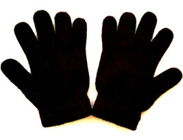 JOE BOXER BOY'S GLOVES BLACK ONE SIZE FITS MOST EUC - $5.93