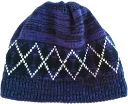 The Children's Place Boys Blue Hat Cap W/Diamond Design Size L/Xl 8+ Euc - $6.92